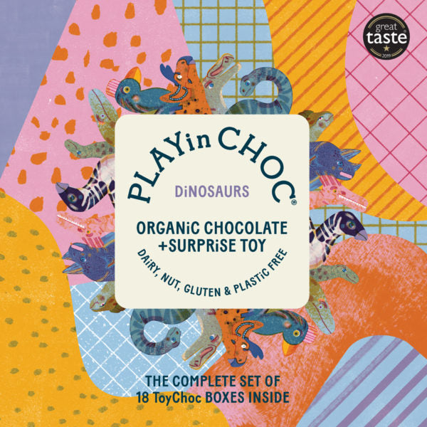 Play in Choc Organic Chocolate & Surprise Toy - Small Eco Steps