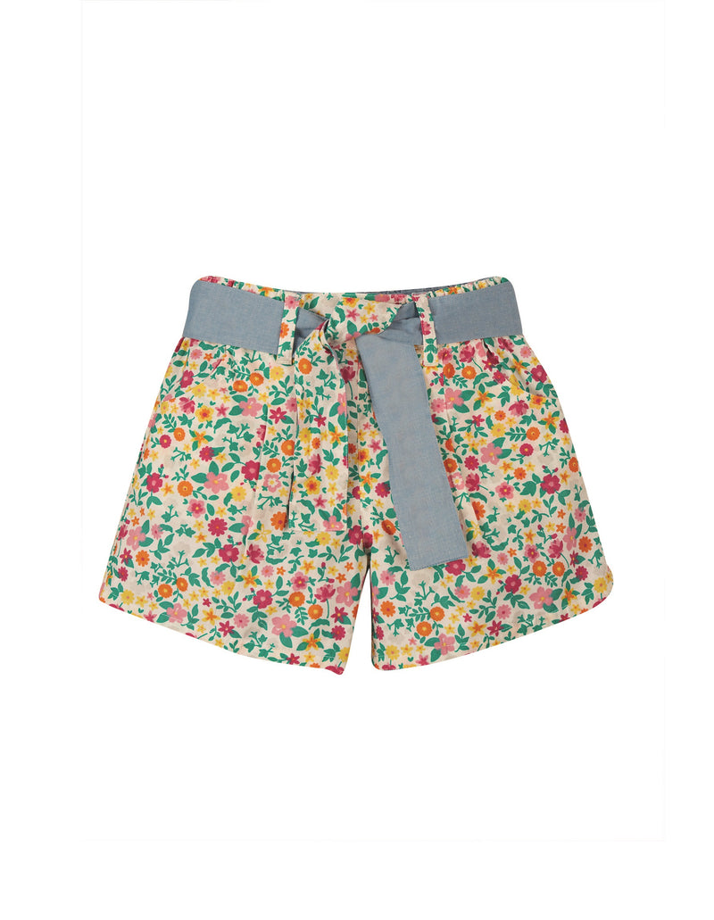 Frugi Rhea Chambray Reversible Shorts