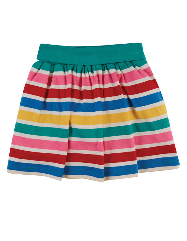 Rainbow Multi Stripe Luna Skort