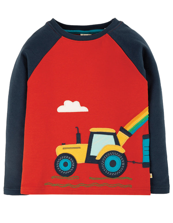 Tractor Albert Applique Top
