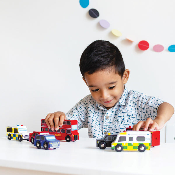 Le Toy Van London Car Set - Small Eco Steps