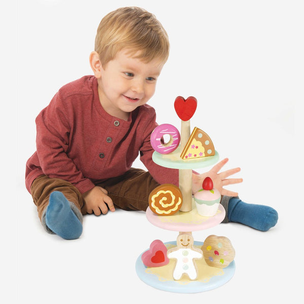 Le Toy Van Honeybake Three Tier Cake Stand Set