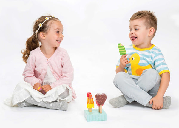 Le Toy Van Honeybake Ice Lolly Set - Small Eco Steps