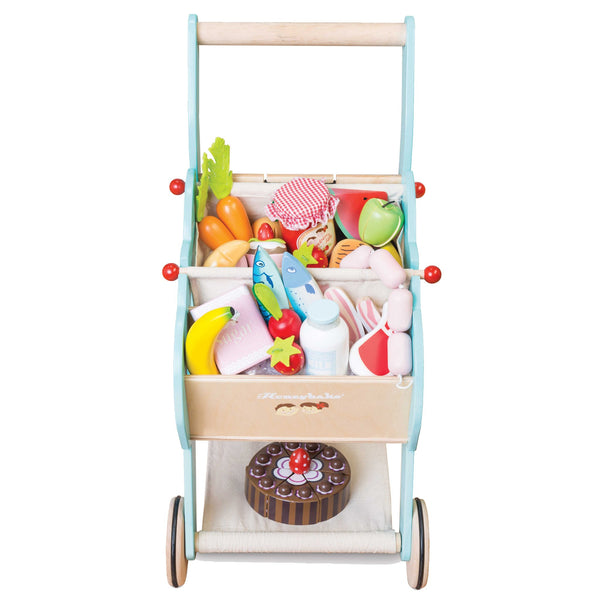 Le Toy Van Shopping Trolley (with Detachable Bag) - Small Eco Steps