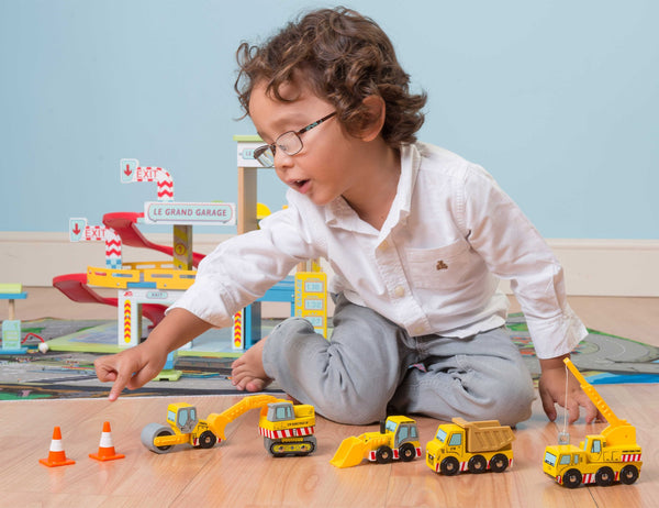 Le Toy Van Construction Set - Small Eco Steps