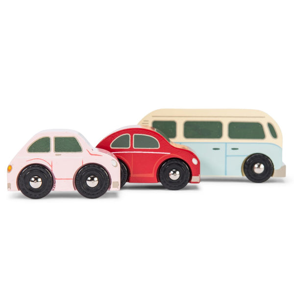 Le Toy Van Retro Metro Vehicle Set