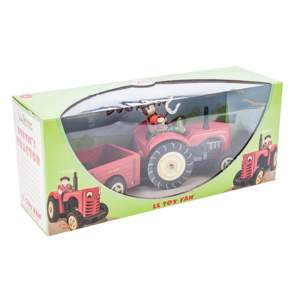 Le Toy Van Bertie's Red Wooden Tractor