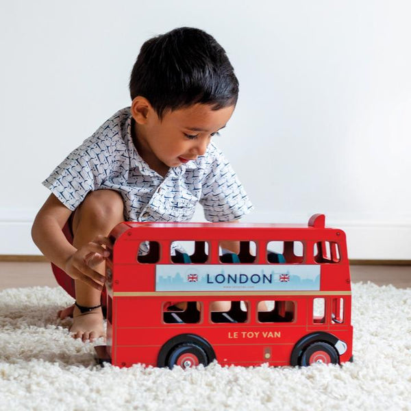 Le Toy Van London Bus with Driver - Small Eco Steps