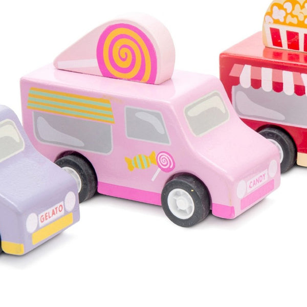 Le Toy Van Sweets & Treats Pull Back Van