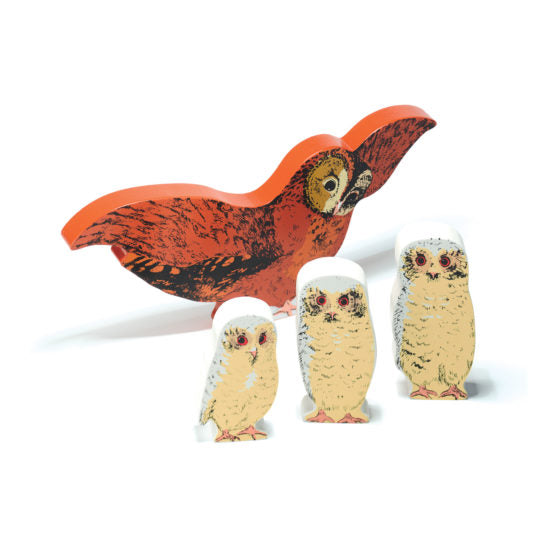 Owl Babies Wooden Characters