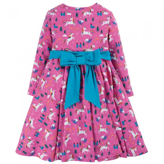 Frugi Unicorns Party Skater Dress
