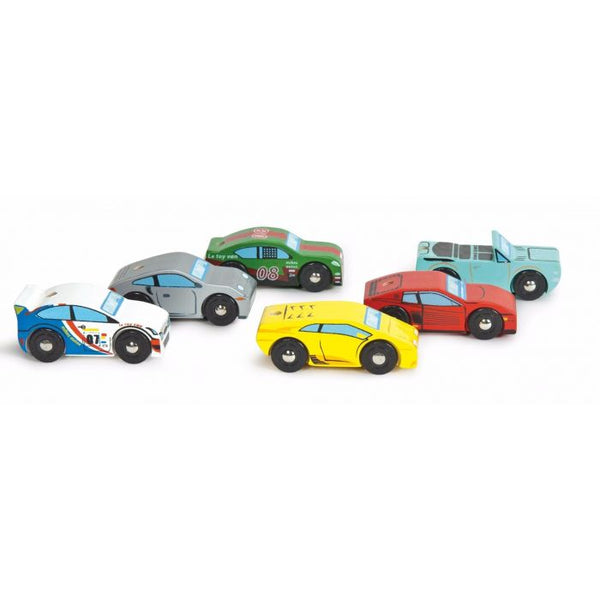 Le Toy Van Montecarlo Sports Car Set