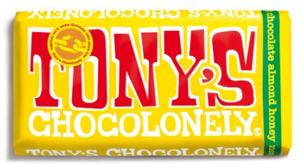 Tony's Chocolonely Almond Honey Nougat 32%