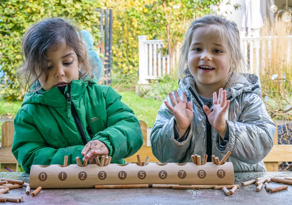 Natural Counting Log - Counting Games