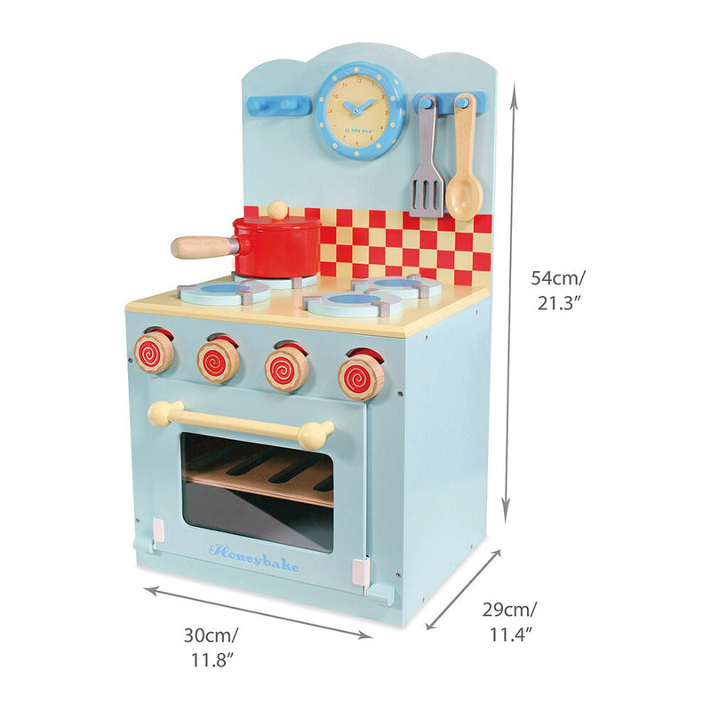Le Toy Van Oven & Hob in Blue