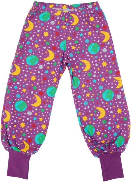 Duns Mother Earth Baggy Pants - Bright Violet