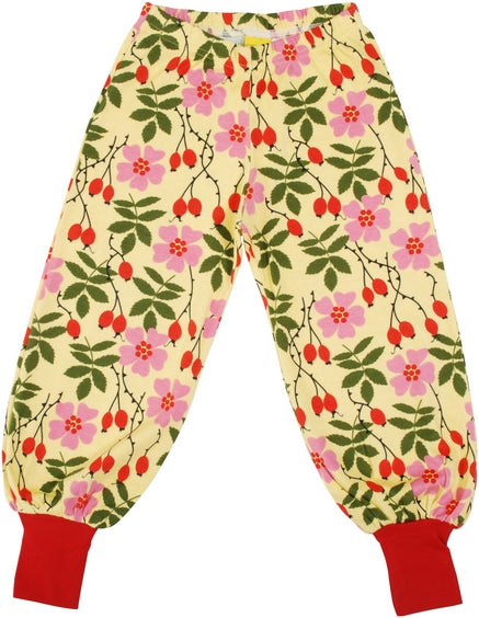DUNS Baggy Pants - Rosehip Yellow