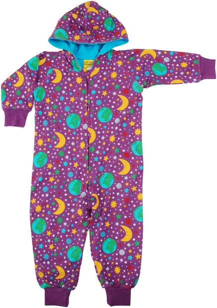 Duns Mother Earth Hood Suit- Bright Violet