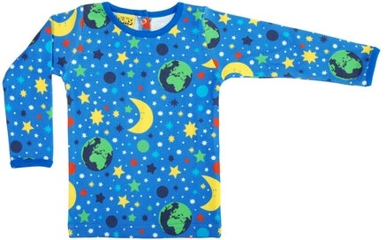 Duns Mother Earth Children's Long-Sleeved Top - Blue