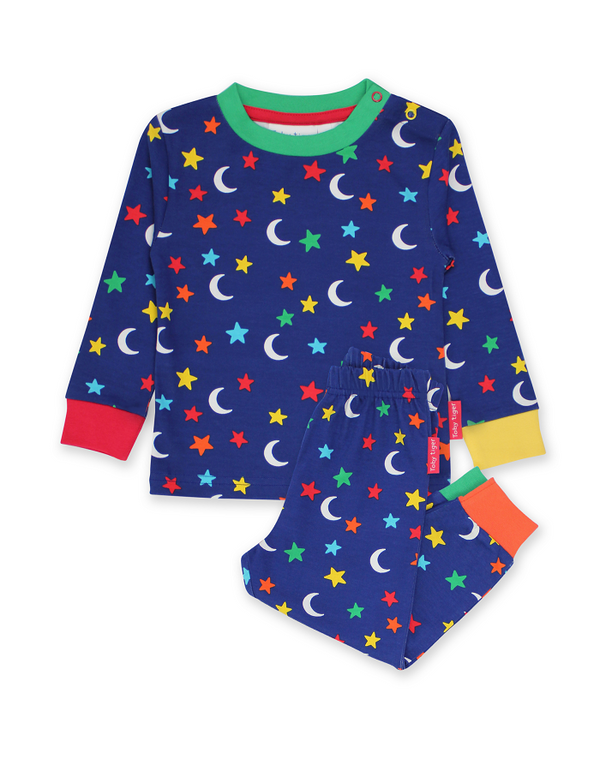 Star Print Long Sleeved Pyjamas