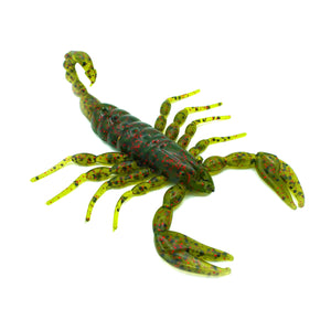 watermelon red fleck scorpion fishing bait