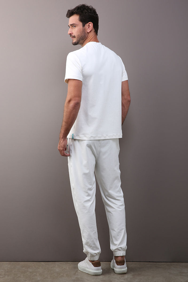 SCRUB MASCULINO BAC/VIRUS OFF - OFF WHITE