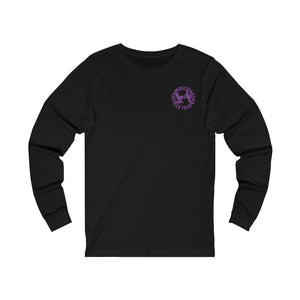 Open image in slideshow, Longsleeve Tee Buffalo Trio - Unconscious (Black/Purple) - International
