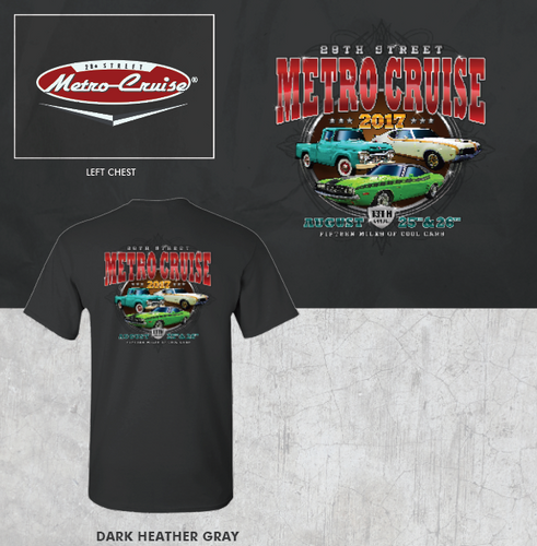 2017 Metro Cruise Official shirt