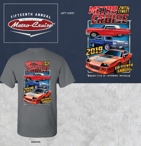 2019 Metro Cruise Official shirt