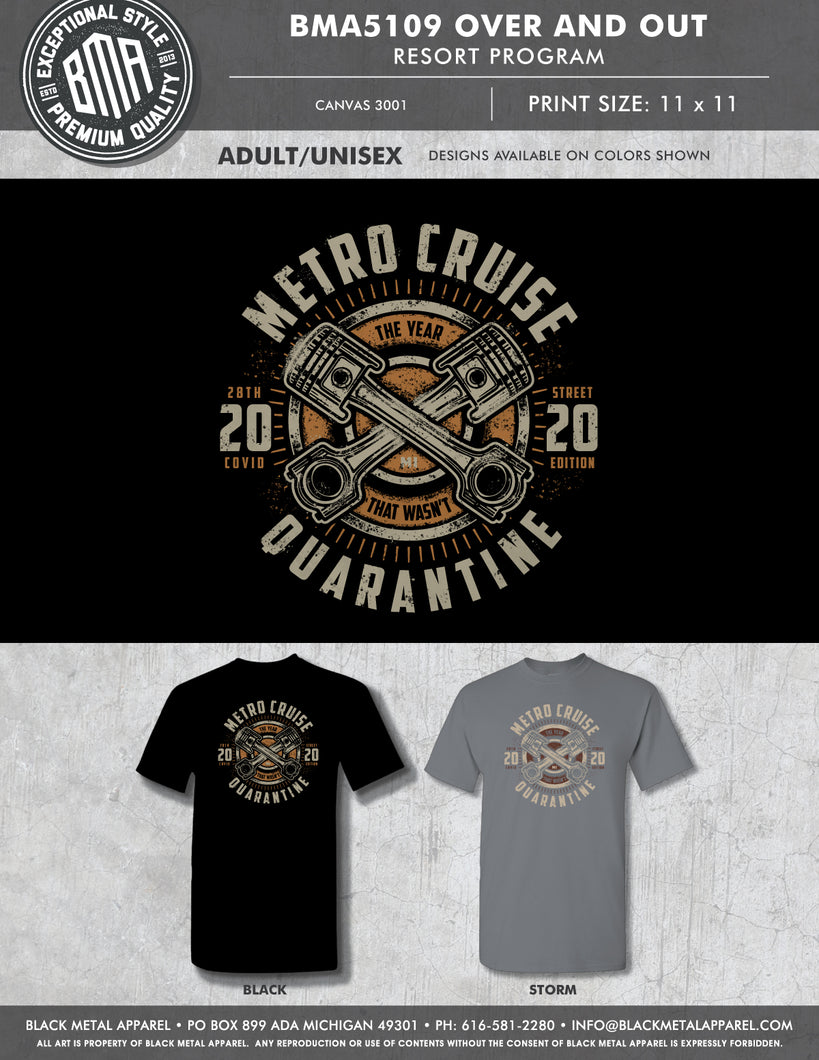 2020 Covid Metro Cruise Official shirt