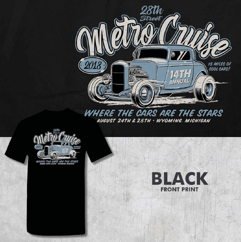 2018 Metro Cruise Official shirt
