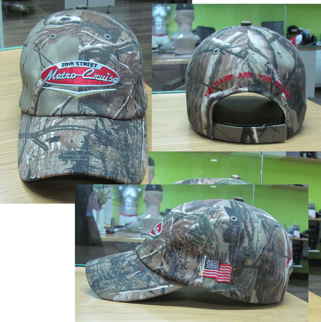 OFFICIAL Metro Cruise Official CAMO hats