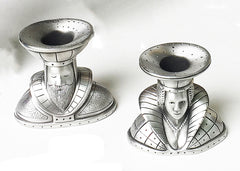 King And Queen Candle Holders