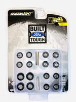 GREENLIGHT BUILD FORD TOUGH WHEEL KIT & TIRE PACK