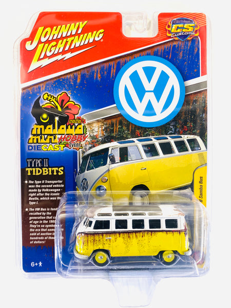 JOHNNY LIGHTING RAT FINK 1965 VW TYPE II SAMBA BUS - STREET SAMBA