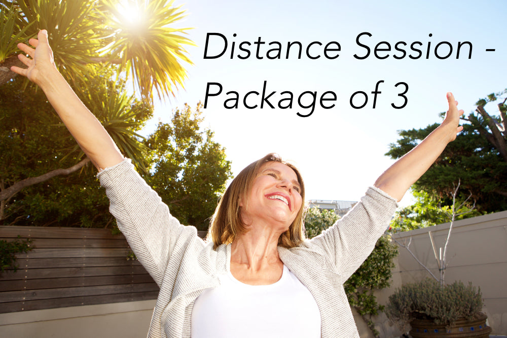 On your way! PACKAGE of 3 sessions.