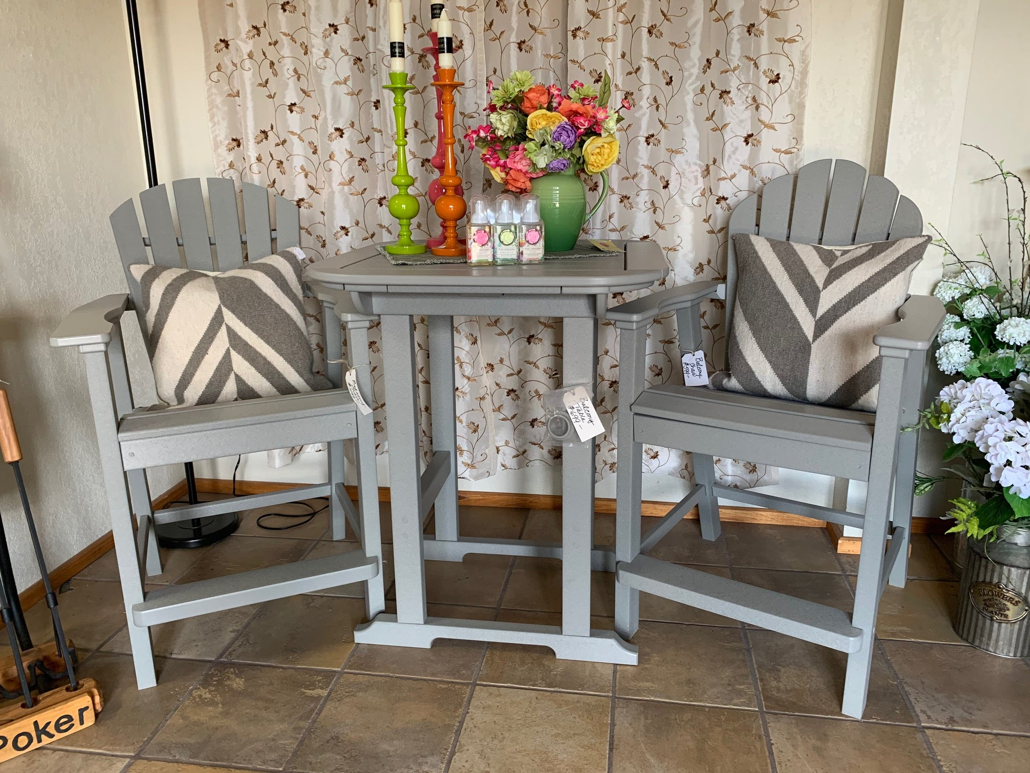 Hi-top Patio Set