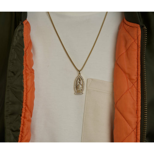 Men's Virgin Mary Necklace