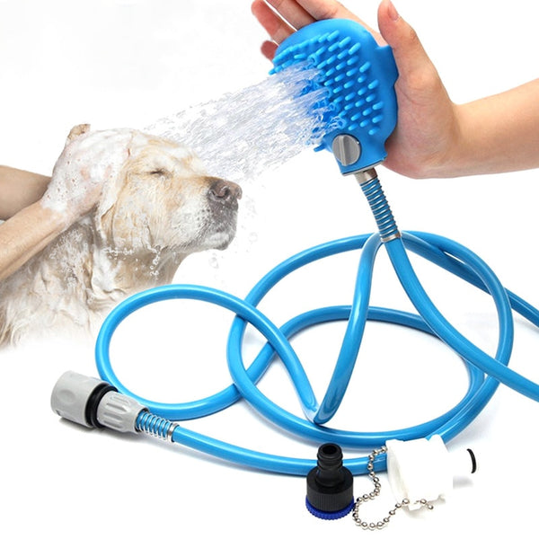 Pet Bath Artifact Dog Cleaning Beauty Tools Pet Bathing Nozzle Massage Shower