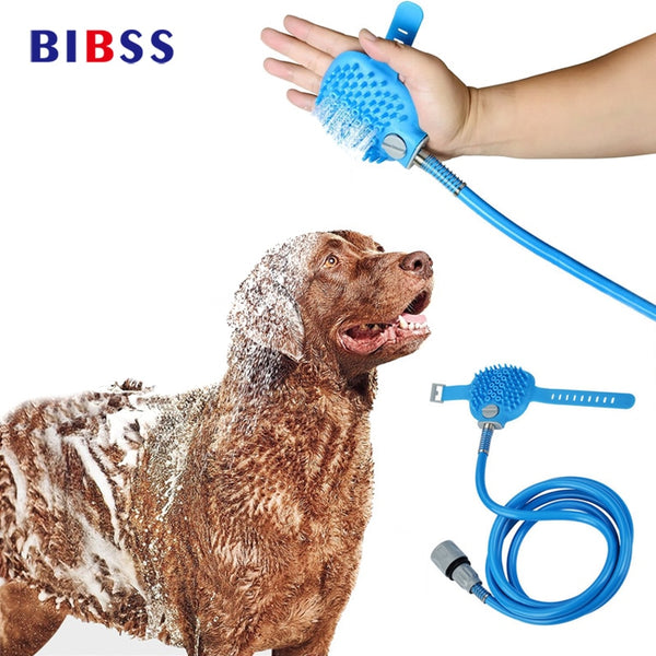 Pet Cat Dog Cleaning Bath Shower Head Device Multi-functional Comb Water Sprayer Brush Grooming Massage For Large Dogs Cat Comb
