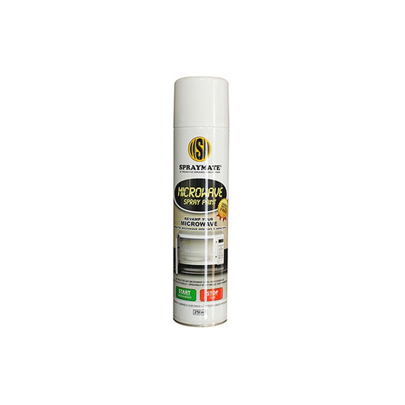 Spraymate Microwave White Spray Paint