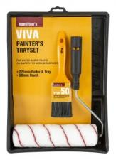 Hamilton 3 Pc Viva Brush Set 25/38/50Mm