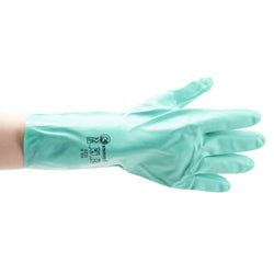 Gloves Nitrile Green