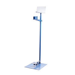 Sanitizer Foot Stand Blue