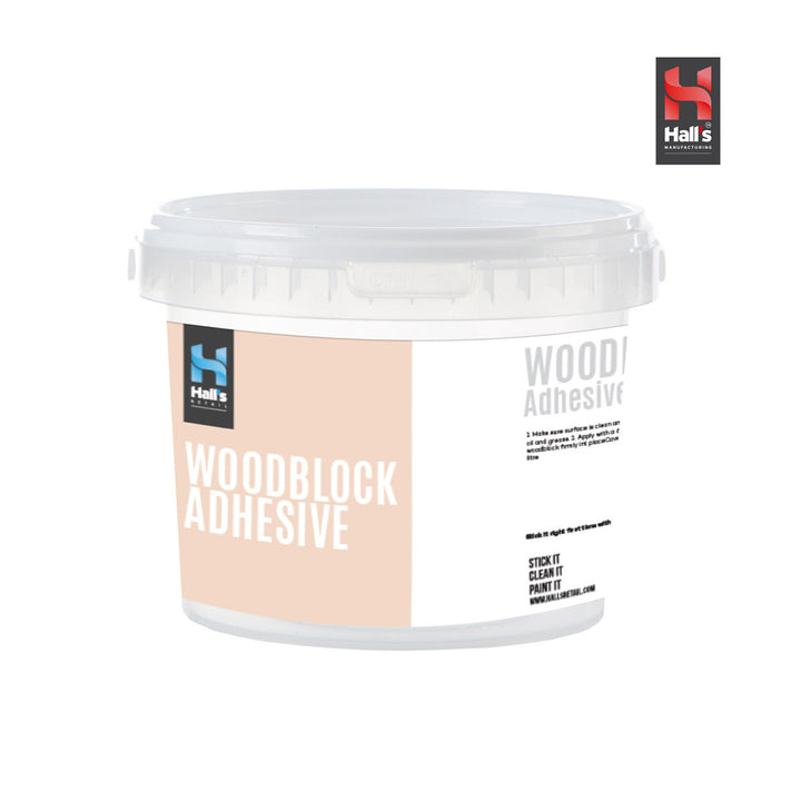 Woodblock Adhesive - Hall's Retail