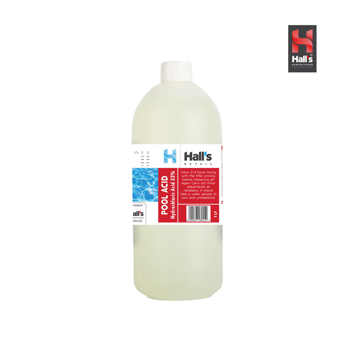 Pool Acid (33% Hcl Acid) - Hall's Retail