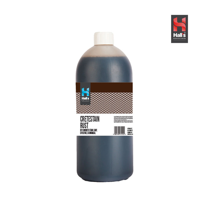 Halls Concrete Stain Rust - Hall's Retail