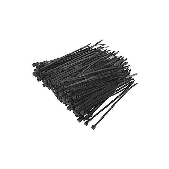 Cabletie Black 100/Pack - Hall's Retail