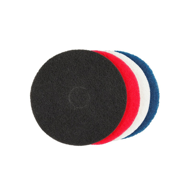 Floor Pads White/Black/Red 425Mm