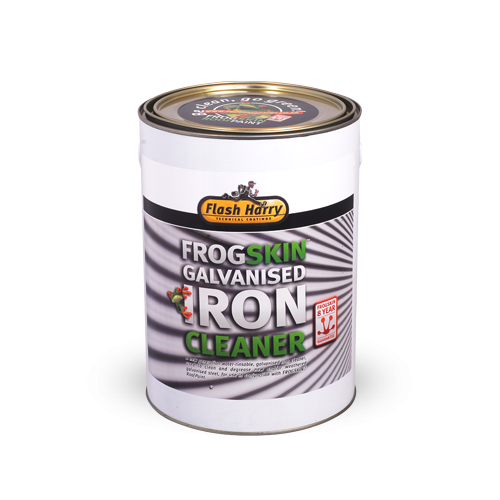Flash Harry Frogskin Galvanised Iron Cleaner